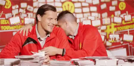 Watch and share Daniel Van Buyten GIFs and Kevin Mirallas GIFs on Gfycat