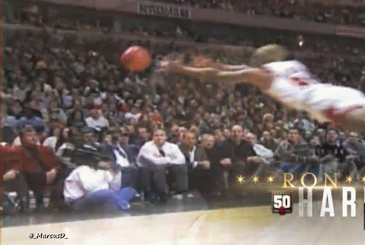 nbagifs, Dennis Rodman diving for a loose ball. GIFs