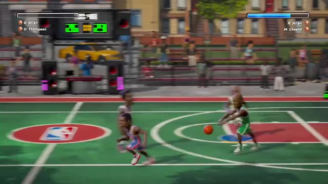 Watch Nba  GIF by Gamer DVR (@xboxdvr) on Gfycat. Discover more NBAPlaygrounds, OLIVERAJASKA, xbox, xbox dvr, xbox one GIFs on Gfycat