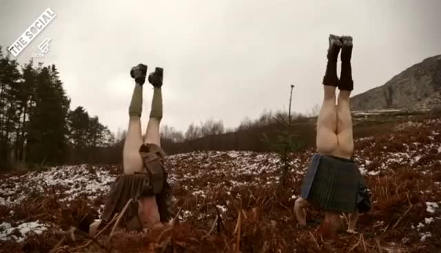 Watch Kilted Yoga GIF on Gfycat. Discover more related GIFs on Gfycat