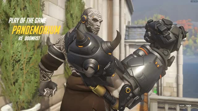 Watch and share Overwatch GIFs and Doomfist GIFs by pandemonium on Gfycat