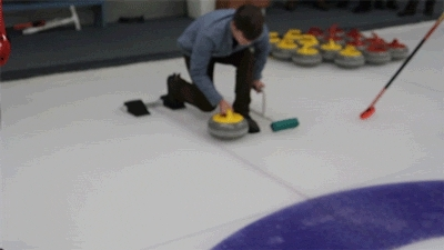 Sexy womens curling gif — 4