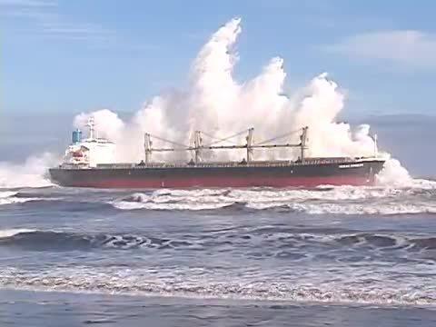 HeavySeas, heavyseas, Rescate Buque Ocean Breeze en San Antonio (reddit) GIFs