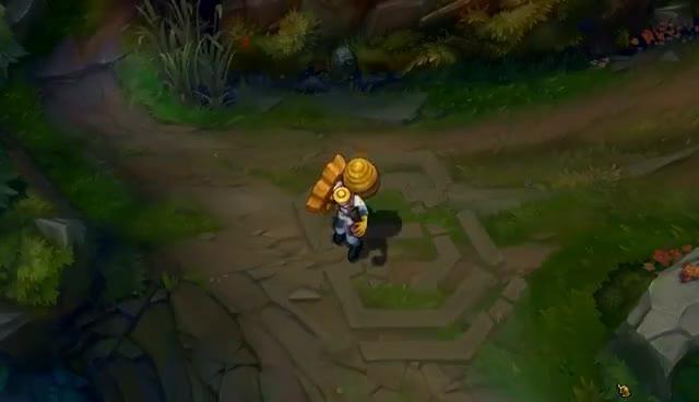Beekeeper Singed Skin Spotlight - League of Legends GIFs