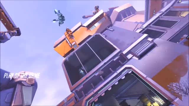 Watch Pharah destruction  GIF by @heath_lad on Gfycat. Discover more overwatch, pharah GIFs on Gfycat