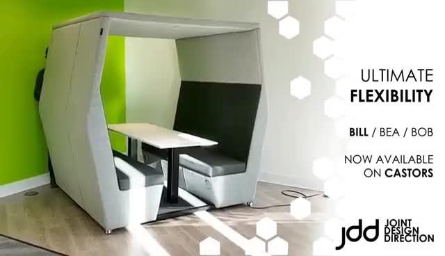 Ultimate Flexibility - JDD Meeting Dens on Castors GIFs