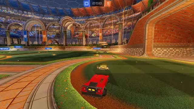 Watch gainer goal GIF by JdaCoffin (@chumpr) on Gfycat. Discover more rl, rocket league GIFs on Gfycat