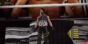 Watch and share Ring Entrance GIFs and Seth Rollins GIFs on Gfycat