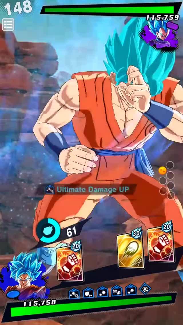 Watch and share DB Legends SSB Goku Ult GIFs on Gfycat