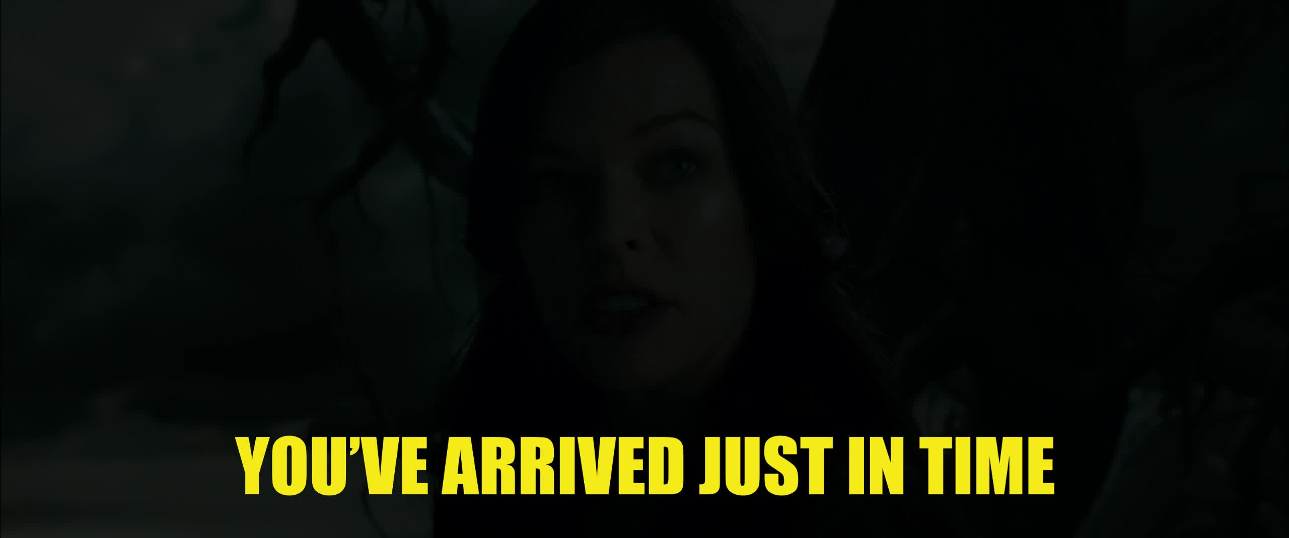 Hellboy, dark horse, dark horse comics, hellboy, hellboy 2019, hellboy movie, milla jovovich, party time, perfect, superhero, superheroes, time, Hellboy Just In Time Milla Jovovich GIFs