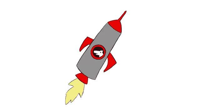 Ракеты анимация картинки