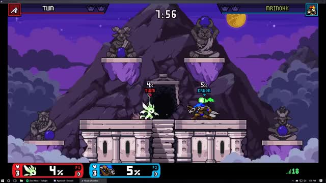 Watch and share Rivals Of Aether GIFs and Forsburn GIFs by mrinohk on Gfycat