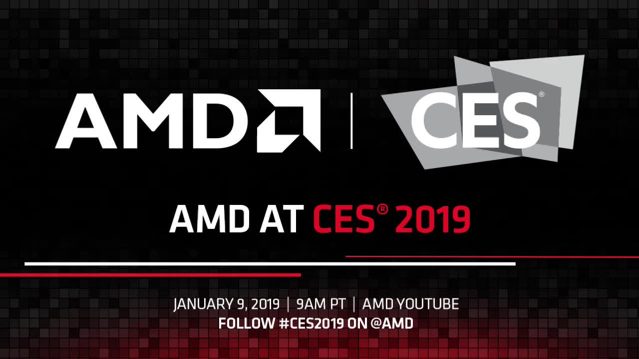Science & Technology, mockingbird-, Watch AMD CES 2019 Keynote starting at 9:00 AM PST (Wednesday, January 9) GIFs