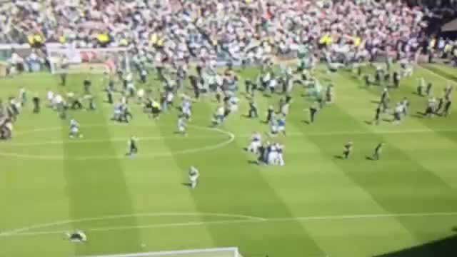 scottishfootball, soccer, Video evidence of Rangers players being surrounded and attacked at Hampden. GIFs