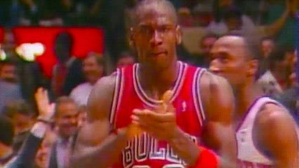 date unknown, Michael Jordan — Chicago Bulls GIFs
