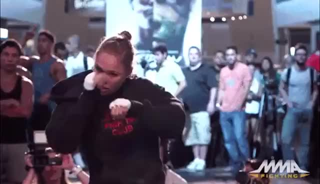 Watch and share Ronda Rousey Shadowboxing Technique GIFs on Gfycat