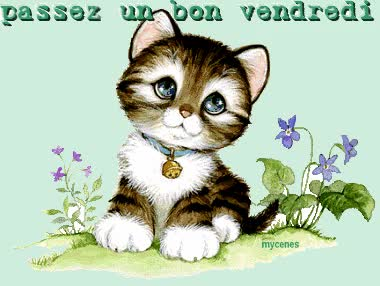 Watch and share Vendredi animated stickers on Gfycat