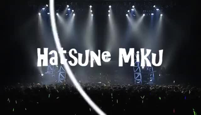 Watch and share Concert GIFs and Hatsune GIFs on Gfycat