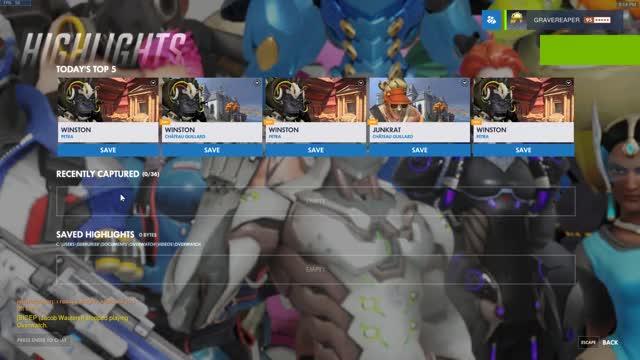 Watch and share Winston 4kills Deathmatch GIFs on Gfycat