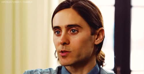 Watch and share Jared Leto GIFs and Jaredleto GIFs by Reactions on Gfycat