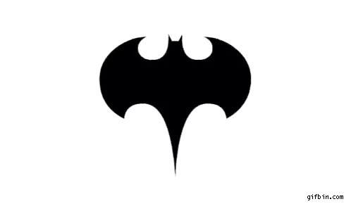 Watch and share Batman Logo GIFs on Gfycat