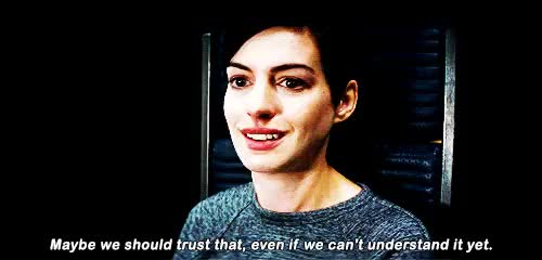 Watch this anne hathaway GIF on Gfycat. Discover more anne hathaway, christopher nolan, gif, interstellar GIFs on Gfycat