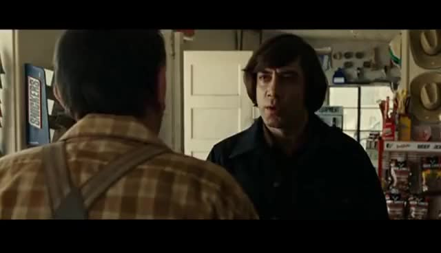 Watch Anton Chigurh smile GIF on Gfycat. Discover more Anton GIFs on Gfycat