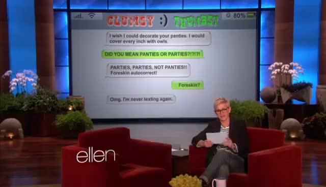 Watch and share Ellen GIFs on Gfycat