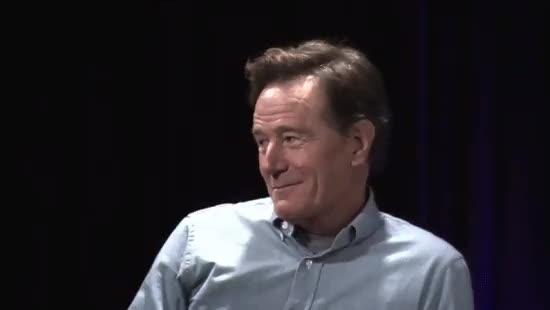 bryan cranston, Fan gets owned by Bryan Cranston at Comic-Con (x-post /r/breakingbad) : videos GIFs
