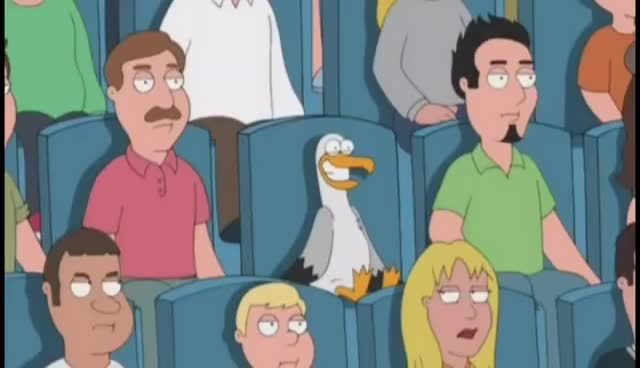 Watch and share Family Guy GIFs and Seagull GIFs on Gfycat