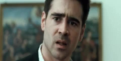 Watch Disgusted Colin Farrell GIF - Find & Share on GIPHY GIF on Gfycat. Discover more colin farrell GIFs on Gfycat