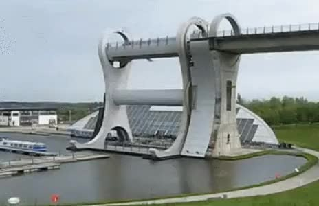 Watch Falkirk Wheel in Scotland (reddit) GIF on Gfycat. Discover more related GIFs on Gfycat
