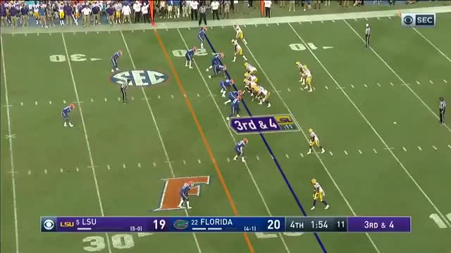 Watch and share Lsu Vs Florida 2018 GIFs and Lsu Football 2018 GIFs on Gfycat