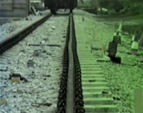 Watch and share Rare Visual Of A Rail Buckling [xpost /r/Traingifs] (reddit) GIFs on Gfycat
