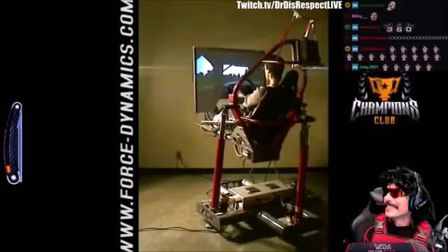 DrDisRespect Buys $8000 Gaming VR Chair and Reacts to Best Gaming Racing Chairs