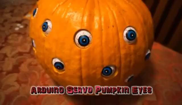 Watch and share Arduino Servo Pumpkin Eyes GIFs on Gfycat