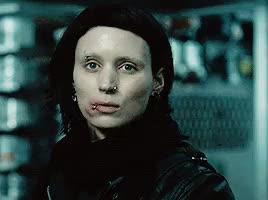 Watch and share Lisbeth Salander GIFs and Rooney Mara GIFs on Gfycat