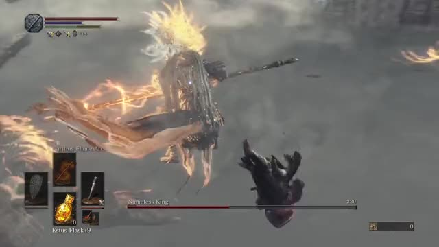Watch and share Nameless King GIFs and Dark Souls 3 GIFs on Gfycat