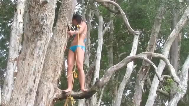 Watch Rope Swing GIF by Funny GIFs (@gnchau) on Gfycat. Discover more fail, lake, rope swing GIFs on Gfycat