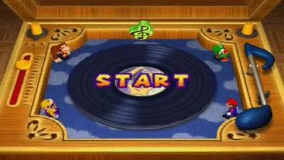 Watch and share Mario Party 2 Mini Games - Dizzy Dancing GIFs on Gfycat