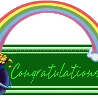 Watch and share Congratulations animated stickers on Gfycat