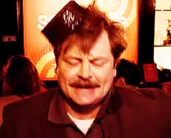 Watch and share Ron Swanson Dance GIFs on Gfycat