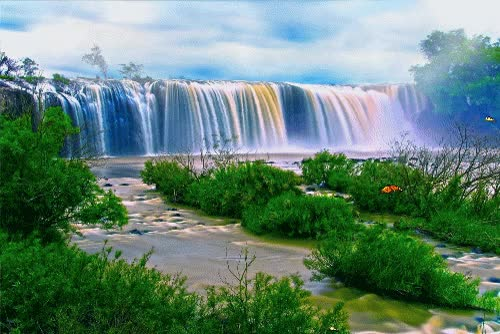 Watch nature GIF on Gfycat. Discover more dp, nature, waterfall GIFs on Gfycat