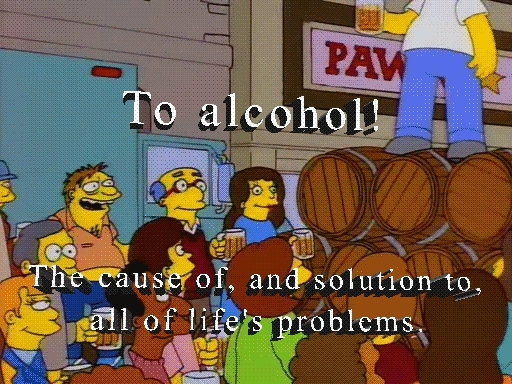To alcohol! GIFs