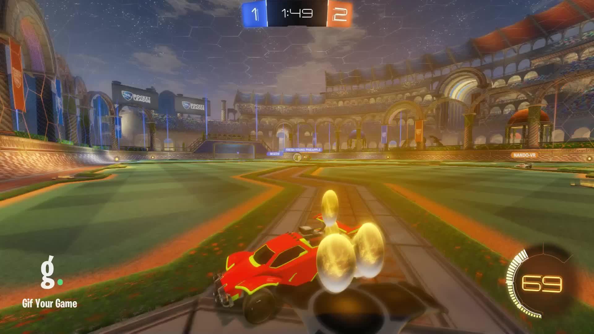 Gif Your Game, GifYourGame, Goal, Rashman, Rocket League, RocketLeague, Goal 4: Rashman GIFs