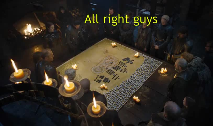 freefolk, game of thrones memes, got memes, isaac hempstead wright, john bradley west, kit harington, sophie turner, Freefolk Strategists on the War Council of Winterfell | Part 1 GIFs