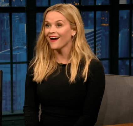 Watch this trending GIF by The GIF Smith (@sannahparker) on Gfycat. Discover more cant even, disbelief, excited, late night with seth meyers, omg, reese witherspoon, shook, what even, whoa, wow GIFs on Gfycat