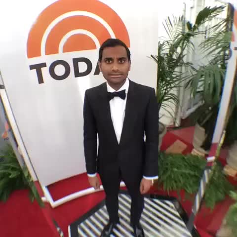 Watch and share Aziz Ansari GIFs and Red Carpet GIFs on Gfycat