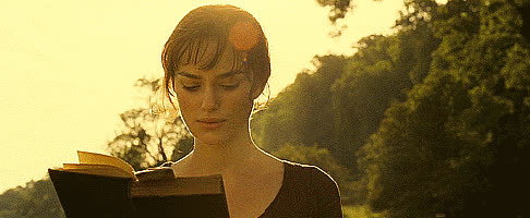 keira knightley, 12 Quotes From Pride and Prejudice All College Girls Need To Hear | Her Campus GIFs
