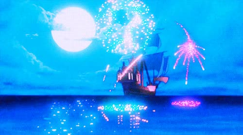 Watch and share Gif Disney Fireworks The Little Mermaid Ariel Ocean Swimming Boat GIFs on Gfycat